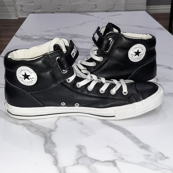 CONVERSE CTAS LEATHER WITH VELCRO STRAPS